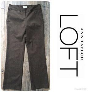 LIKE NEW LOFT Marisa Hounds Tooth Dress Pants Sz 2